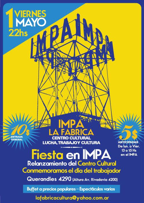 IMPA - fiesta y relanzamiento centro cult